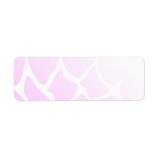 Pale Pink Pattern.