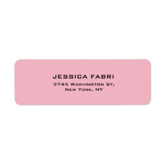 Pale Pink Plain Elegant Modern Trendy