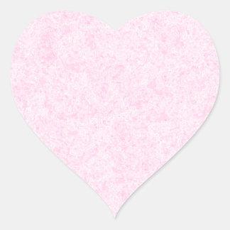 Pale Pink Random Background Pattern. Heart Sticker