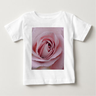 pale pink rose baby T-Shirt