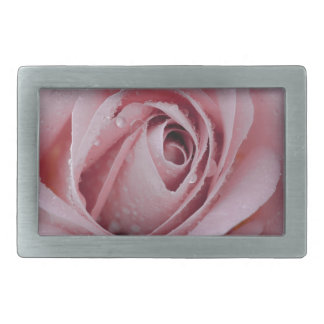 pale pink rose belt buckles