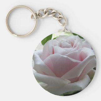 Pale Pink Rose Key Chains