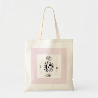 Pale Pink Unconditional Love Tote Bag