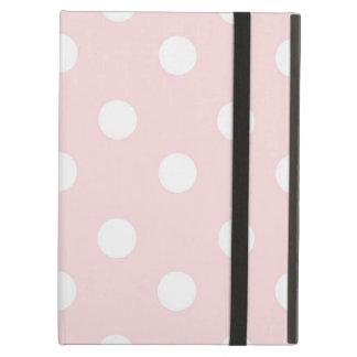 Pale Polka Dot iPad Air Case with No Kickstand