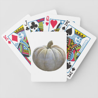 Pale Pumpkin Bicycle Playing Cards