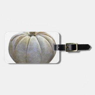Pale Pumpkin Luggage Tag
