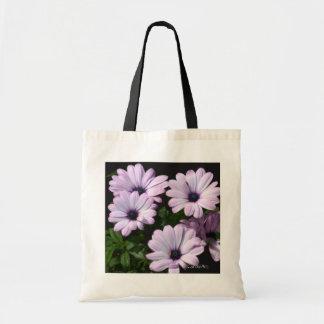"""Pale Purple Daisies"" Tote Bag"