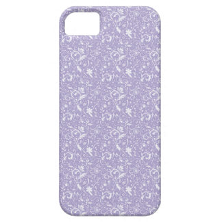 Pale Purple Floral Swirls iPhone4 iPhone 5 Case