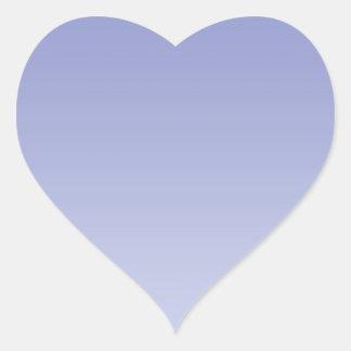 Pale Purple Ombre Heart Sticker