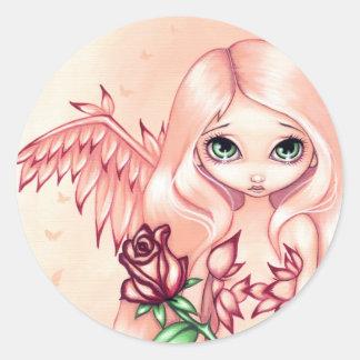 """Pale Rose"" Sticker"