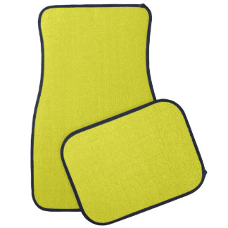 PALE SUNFLOWER YELLOW (solid color) ~ Floor Mat