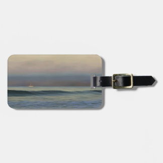 Pale Sunset Luggage Tag