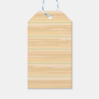 Pale Wood Background Gift Tags