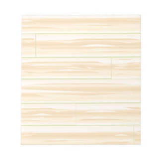 Pale Wood Background Notepad