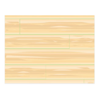 Pale Wood Background Postcard