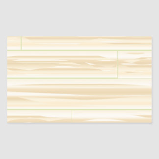 Pale Wood Background Sticker