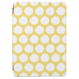 Pale Yellow Asian Moods Ikat Dots iPad Air Cover