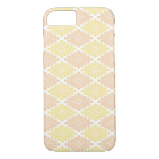 Pale Yellow & Peach Flowers Barely There iPhone 7 iPhone 7 Case