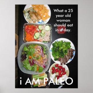 Paleo Food Poster
