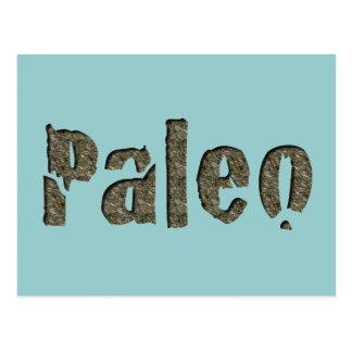 Paleo in Stone Postcard