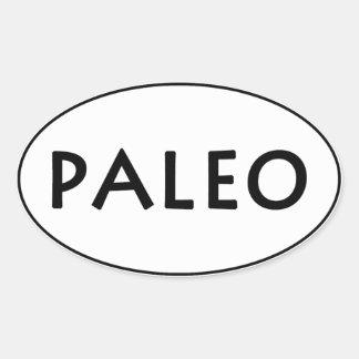 Paleo Oval Sticker