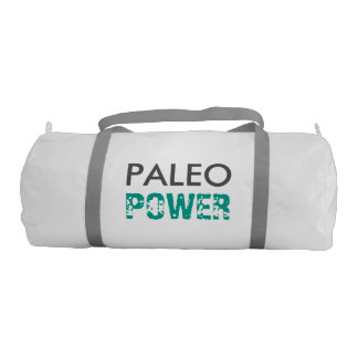 PALEO POWER Fueled the Best Foods - White and Teal