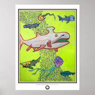 Paleo Yellow Sea Poster