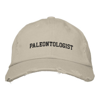 Paleontologist Embroidered Hat