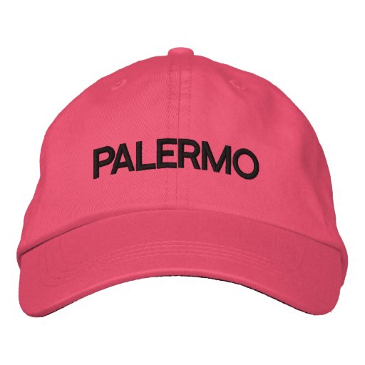Palermo Cap Embroidered Hats