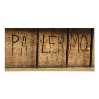 Palermo Graffiti Photo Print