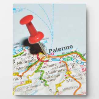 Palermo, Italy Plaque