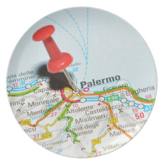 Palermo, Italy Plate