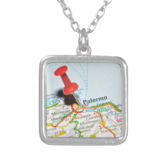 Palermo, Italy Silver Plated Necklace