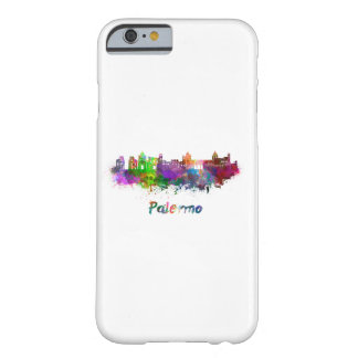 Palermo skyline in watercolor barely there iPhone 6 case