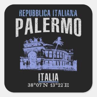 Palermo Square Sticker