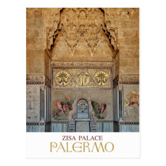 Palermo - Zisa Palace Postcard