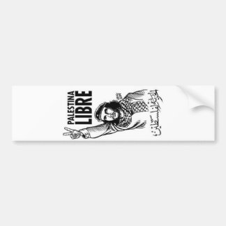 palestina libre bumper sticker