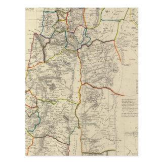 Palestine, adjacent districts postcard