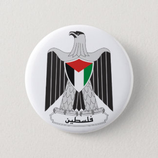 palestine coat of arms 2 inch round button