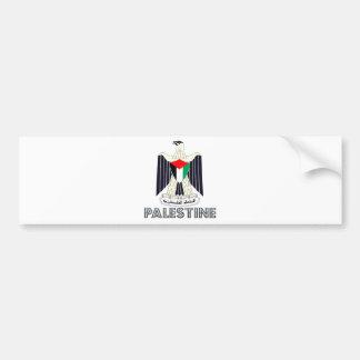Palestine Coat of Arms Bumper Sticker