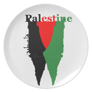 """Palestine Decor Plate- """"Cry for Palestine Series"""" Plate"""