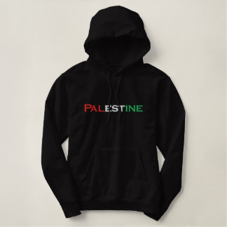 Palestine Embroidered Hoodie