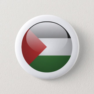 Palestine Flag 2 Inch Round Button