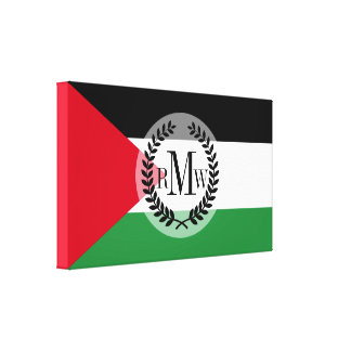 Palestine Flag Canvas Print
