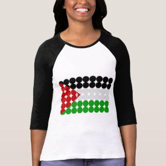 Palestine Flag Circles T-Shirt