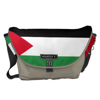 Palestine Flag Courier Bag