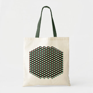 Palestine Flag Hearts Bag