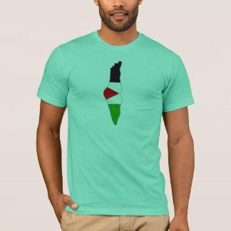 Palestine flag map T-Shirt