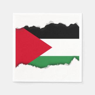 Palestine Flag Paper Napkins