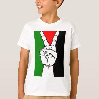 PALESTINE FLAG PEACE SIGN TEES